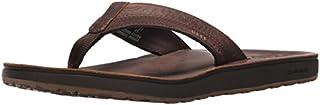 Reef Men's Leather Contoured Cushion Sandal