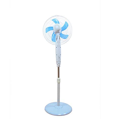 ZCZZ Ventilador, Ventilador De Suelo con Temporizador Controlado por Bluetooth, Silencioso para El Hogar De 16 Pulgadas, Temporización De 8 H, Suministro De Aire De Gran Angular