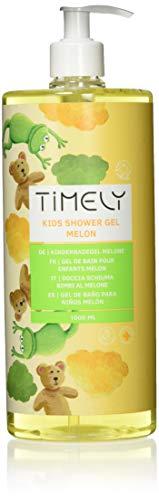 Timely - Gel de ducha hidratante con aroma de melón para niños