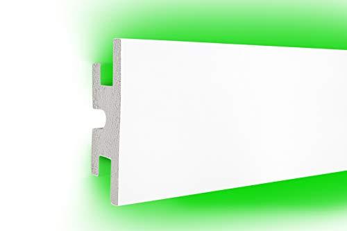 1,15 m   LED Profil   XPS   indirekte Beleuchtung   Trockenbau   lichtundurchlässig   Rigips   Tesori   120x40mm   KD302