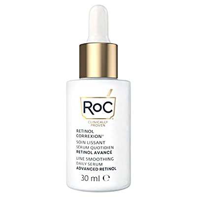 RoC - Retinol Correxion Line Smoothing Daily Serum - Anti Wrinkle and Ageing Treatment - Firming Moisturiser - Hypoallergenic - 30ml from RoC