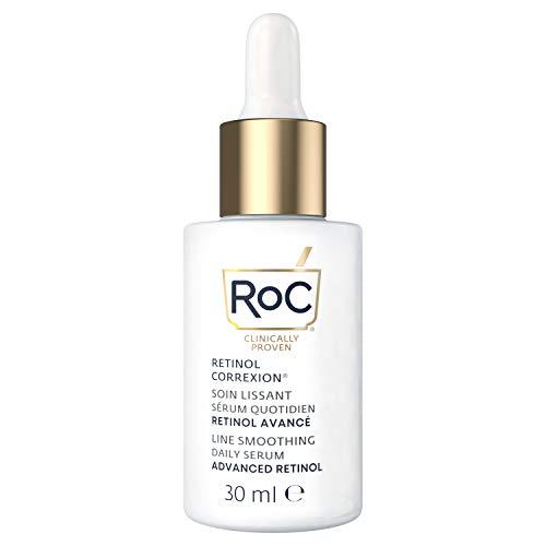 RoC - Retinol Correxion Line Smoothing Serum - Anti Falten und Altern Behandlung - Straffende Feuchtigkeitspflege - Hypoallergen - 30 ml