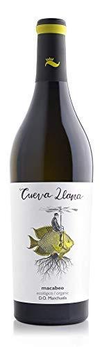 ¡OFERTA! // Cueva Llana Macabeo Eco 2019, Vino Blanco Ecológico, DOP Manchuela, Caja de 6 botellas de 75cl