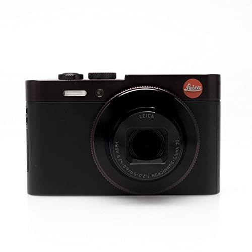Leica 18488 C Typ112 Compact Digital Camera, 3', Dark Red
