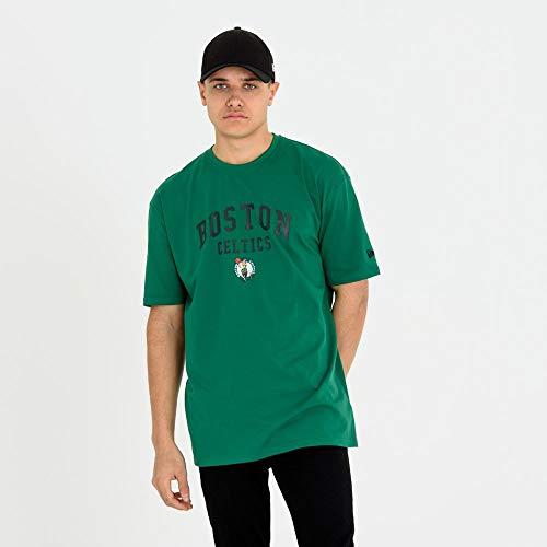 New Era - T-Shirt NBA Boston Celtics Classic Arch Vert pour Homme Taille - S