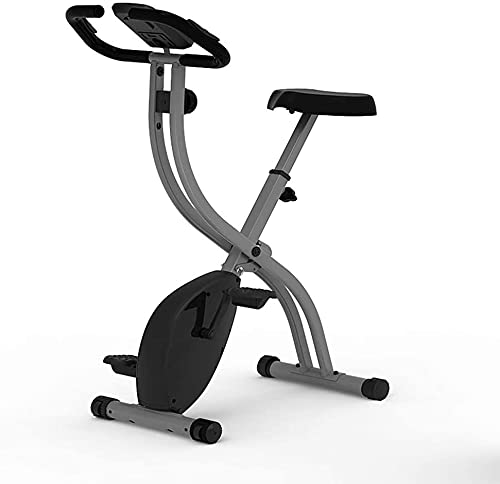 NKTJFUR Bicicletas de Ejercicio, Silent Plegable Hogar Control magnético Ejercicio Bicicleta Spinning Bike Interior Aererobico Ejercicio Bicicleta Fitness Equipos