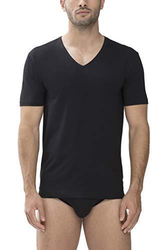 Mey Basics Serie Dry Cotton Herren Shirts 1/2 Arm Schwarz 10