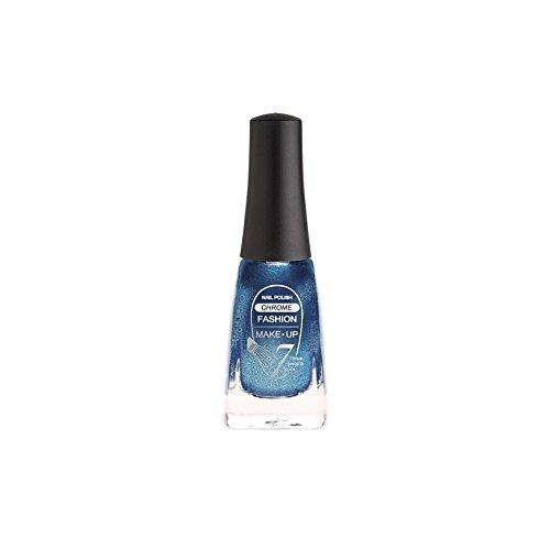 Fashion Make-Up FMU1400506 Vernis à Ongles Chrome N°6 Bleu 11 ml