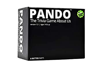 PANDO - The Party Game Where You Try to Answer Trivia Questions About Your Friends or Family