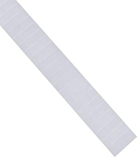 Holtz Étiquettes pour profil C Blanc 50 x 15 mm 115st