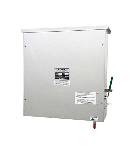 Ronk Electrical Industries 7815 Meter-Rite Grade Level, Center Off, Three Phase, 240V, 200 Amp Main Contact, 200 Amp Aux Contacts, Ul Listed, Nema 3R Rated, All Aluminum