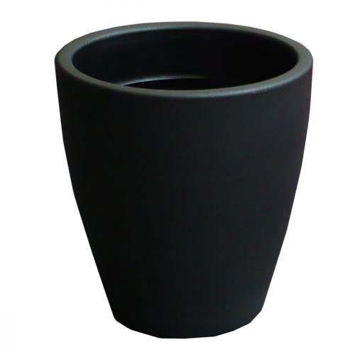 Pot de fleur intérieur & extérieur - Diam. 55cm H. 60cm - Couleur Noir