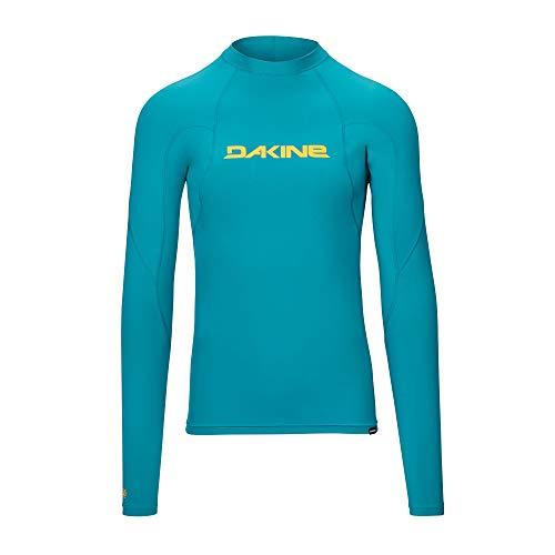Dakine Mens Heavy Duty Snug Fit Rash Vest met lange mouwen Top Seaford - Lichtgewicht - 6,5 oz nauwsluitend surf shirt