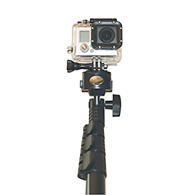 Quik Pod ULTRA VR (Longest Pole) for GoPro, Samsung Gear 360, Nikon, Sony and all Action Cams. (New Model Replaces DSLR/POV), GoPro Pole & Selfie Stick - GoPro Mount & Selfie Pole Waterproof