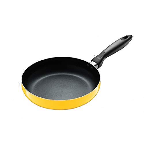 YWSZJ Acero Inoxidable Wok, multipropósito Salsa Pan, Salsa Pot, Antiadherente del pote de Humo No Gas Estufa de Inducción Wok
