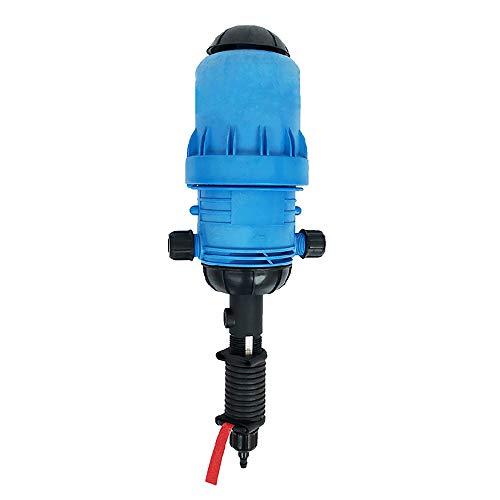MaquiGra Dispositivo de Dosificador impulsado por Agua Bomba de Dosificación Dispensador de inyectorpara Fertilizante Quimicos liquidos Abonos para Cultivo Lavado Industrial Jardinería Rango