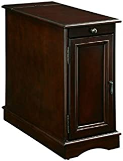 BOWERY HILL Storage End Table in Cherry