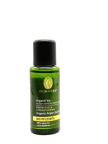 PRIMAVERA Pflegeöl Arganöl bio 30 ml - Naturkosmetik, Pflanzenöl, Anti-Aging - trockene Haut - vegan