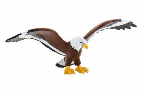Bullyland 43361 - Spielfigur, Yakari, Großer Adler, ca. 3,8 cm groß, liebevoll handbemalte Figur, PVC-frei, tolles Geschenk für Jungen und Mädchen zum fantasievollen Spielen