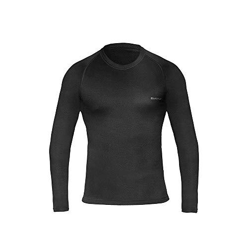 T-Shirt Thermoskin Ml - Masculino Curtlo GG Preto