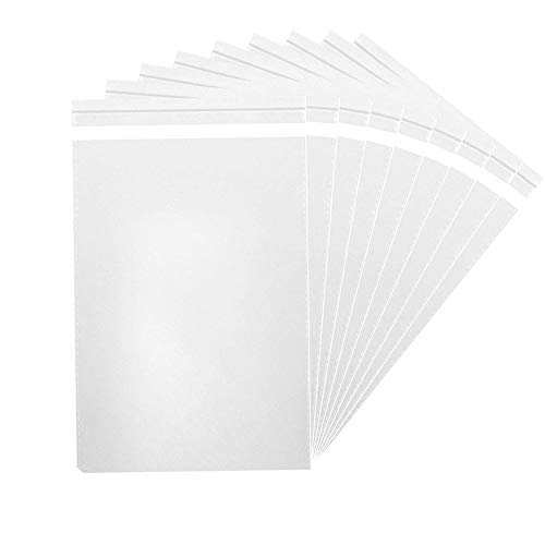 1000 Pcs 4x6 Clear  Flat Cello Cellophane Poly Bags for Bakery Soap Cookie O