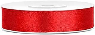 Rollo de cinta Magideal de terciopelo de 10 mm de ancho y 18 metros de longitud para decoraci/ón de manualidades rojo vino