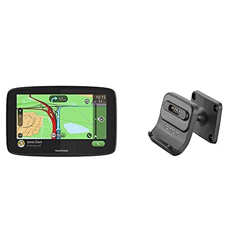 TomTom Navigationsgerät GO Essential (6 Zoll, Stauvermeidung Dank TomTom Traffic, Karten-Updates Europa, Freisprechen, Updates über Wi-Fi) & Fixed Installation XXDock (GO 520/5200/620/6200)