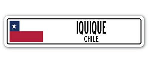 TNND Señal de Calle de la Bandera de Chile, New Iquique Chi