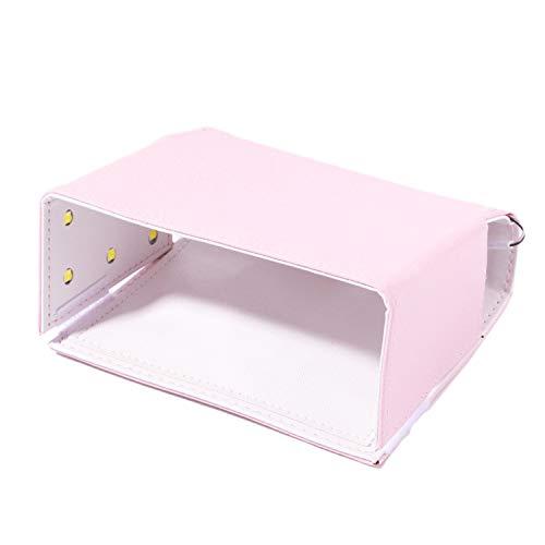 Bayda Lámpara de uñas plegable 54W secador de uñas UV LED lámpara para barniz de gel lámpara de secado LED uñas luz rosa