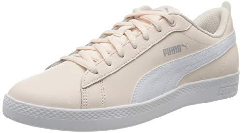 Puma Damen Smash WNS v2 L Zapatillas, Pink (Rosewater White Silver), 40 EU