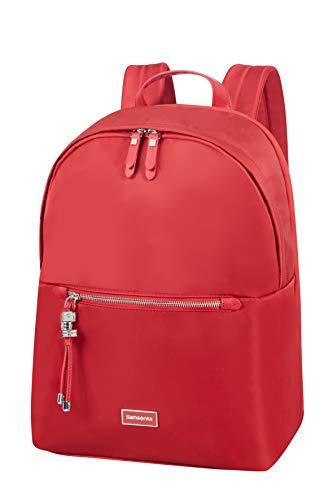 Samsonite Karissa Biz - Round Laptop Rucksack, 39.5 cm, 17.3 Liter, Formula Red
