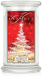 Kringle Candle Stardust Large 2-Wick 22 oz 100 Hour Jar