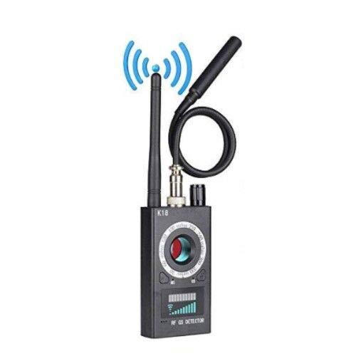 Detector de cámara Oculta antiespía, Detector de RF Detector de Errores inalámbrico Señal para cámara Oculta Lente láser Buscador de Dispositivos gsm Escáner de Radio Alarma de señal inalámbr