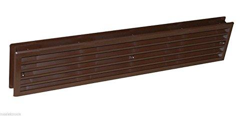 Türlüfter Kunststoff Lüftungsgitter Tür weiss oder braun kunststoff türlüftung (braun)