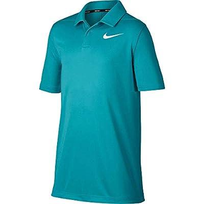 Nike Kids Boy's Dri-FIT Short Sleeve Polo (Toddler/Little Kids) White 4 Little Kids