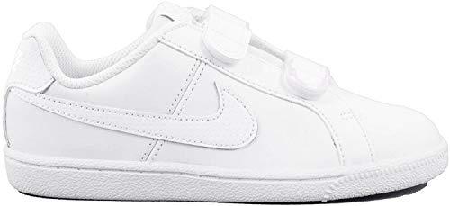 Nike Court Royale (PSV), Zapatillas de Tenis Unisex Niños, Blanco (White/White 102), 35 EU