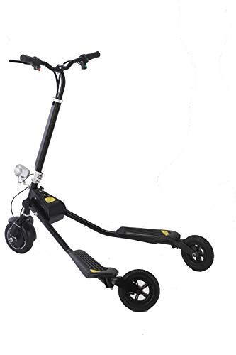 United Trade Elektrische step met drie wielen, elektrische step met led-licht, elektronische driewieler met certificaat