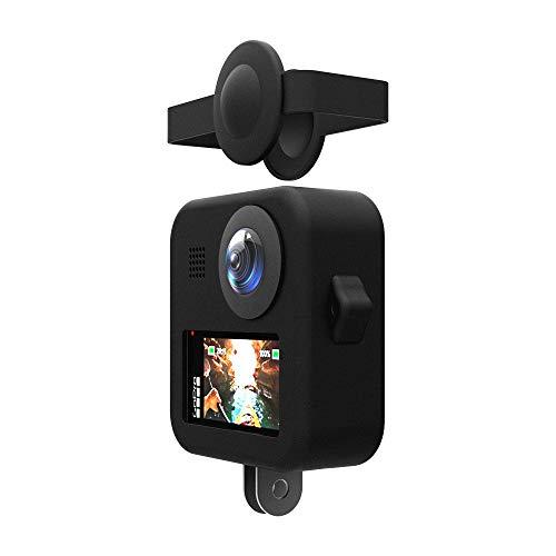 ANYIKE Siliconen beschermhoezen voor GoPro MAX Action Camera Hoesje Bescherming Accessoires 6 Kleuren