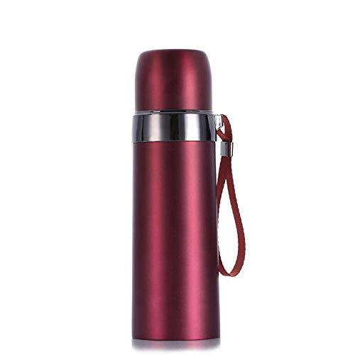 WENSISTAR RVS Thermossen, Dubbel vacuüm RVS beker, sling kogel warmte behoud beker, Thermos Flask Keeps Cold 24H