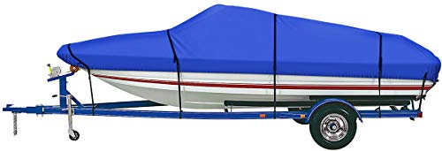 iCOVER Trailerable Boat Cover- Water Proof Heavy Duty