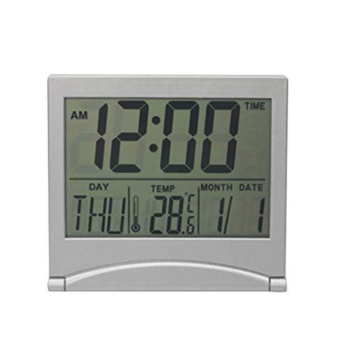 CHENXQ LCD Elektronische Temperatuur Vochtigheid Meter Digitale Thermometer Hygrometer Weerstation Alarm Klok Binnenkamer