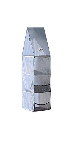"Price comparison product image Carefree 907100 Light Gray 54"" x 14"" x 14"" Nylon RV Awning Storage Locker"