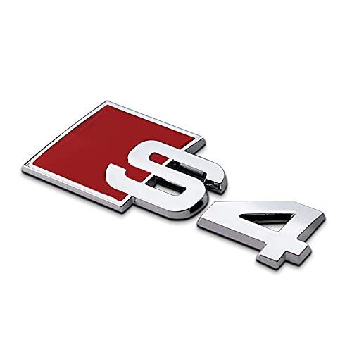 BGHYU capó Campana Emblema para Audi A3 A4L A6L A5 S3 S4...