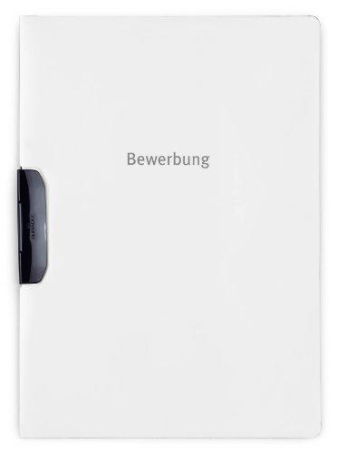 Durable 228902 Bewerbungsmappe Duraswing Job (bis 30 Blatt A4) 5er Packung weiß