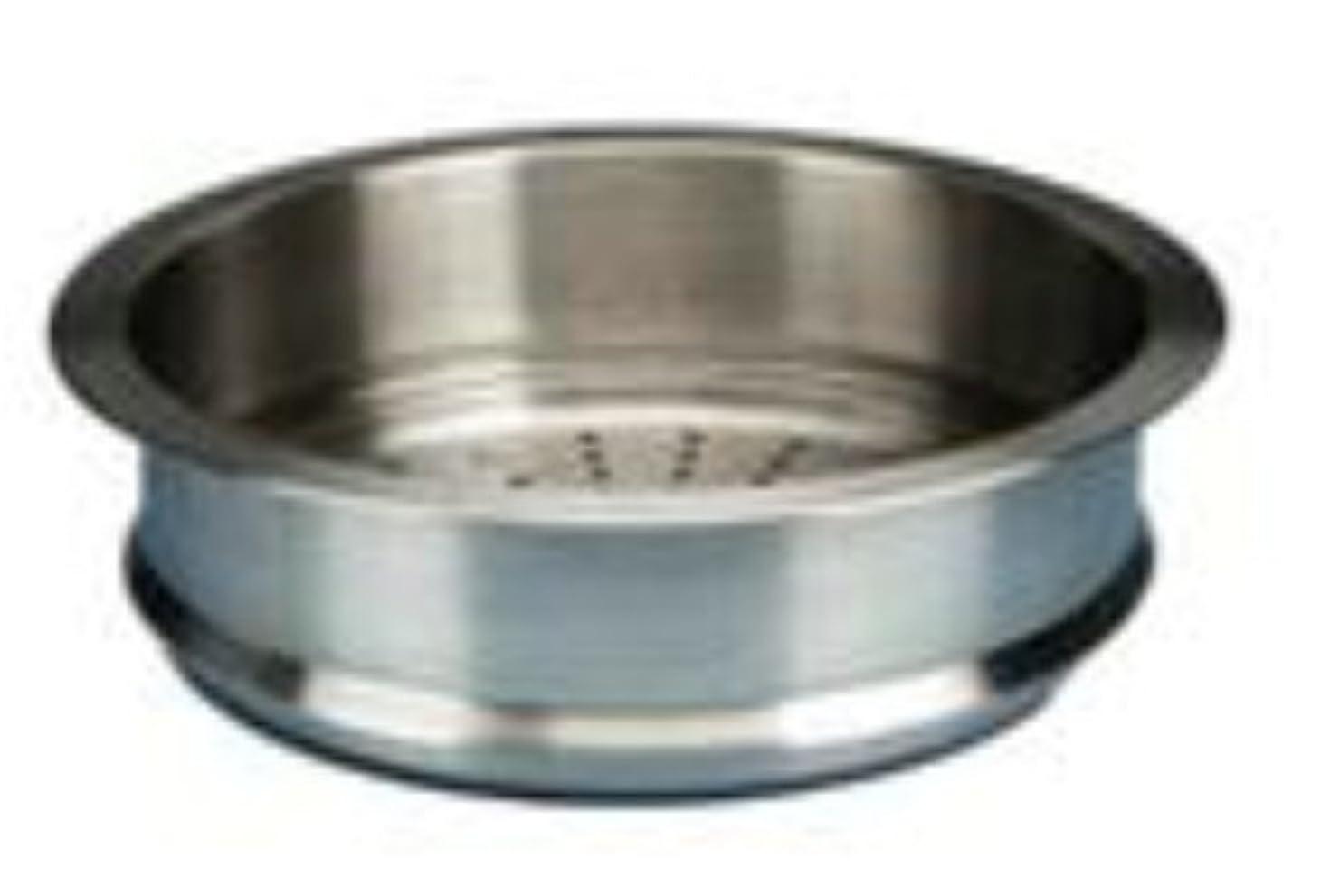 ヶ月目流出カブルクルーゼ スチーマー 蒸し器 ステンレス ココット ロンド 20cm用 940071-20