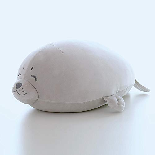 Zachte zeehond pop zeeleeuw knuffel paar schattige kussen cadeau pop-seal _55cm