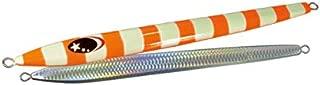ゼスタ(XESTA) メタルジグ スローエモーション フレア 800g #51 ZLOゼブラグローオレンジ