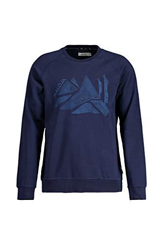 Maloja Scharonsm. Sweatshirt für Herren. M Mitternachtsblau