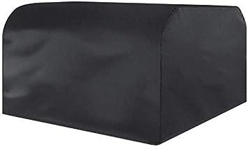 LYF Cubierta Antipolvo para Muebles, protección contra el Sol Impermeable Cubierta para Lluvia Cremallera para Polvo Cubierta de Tela Cinta para Correr Plegable Cubierta Antipolvo Negro