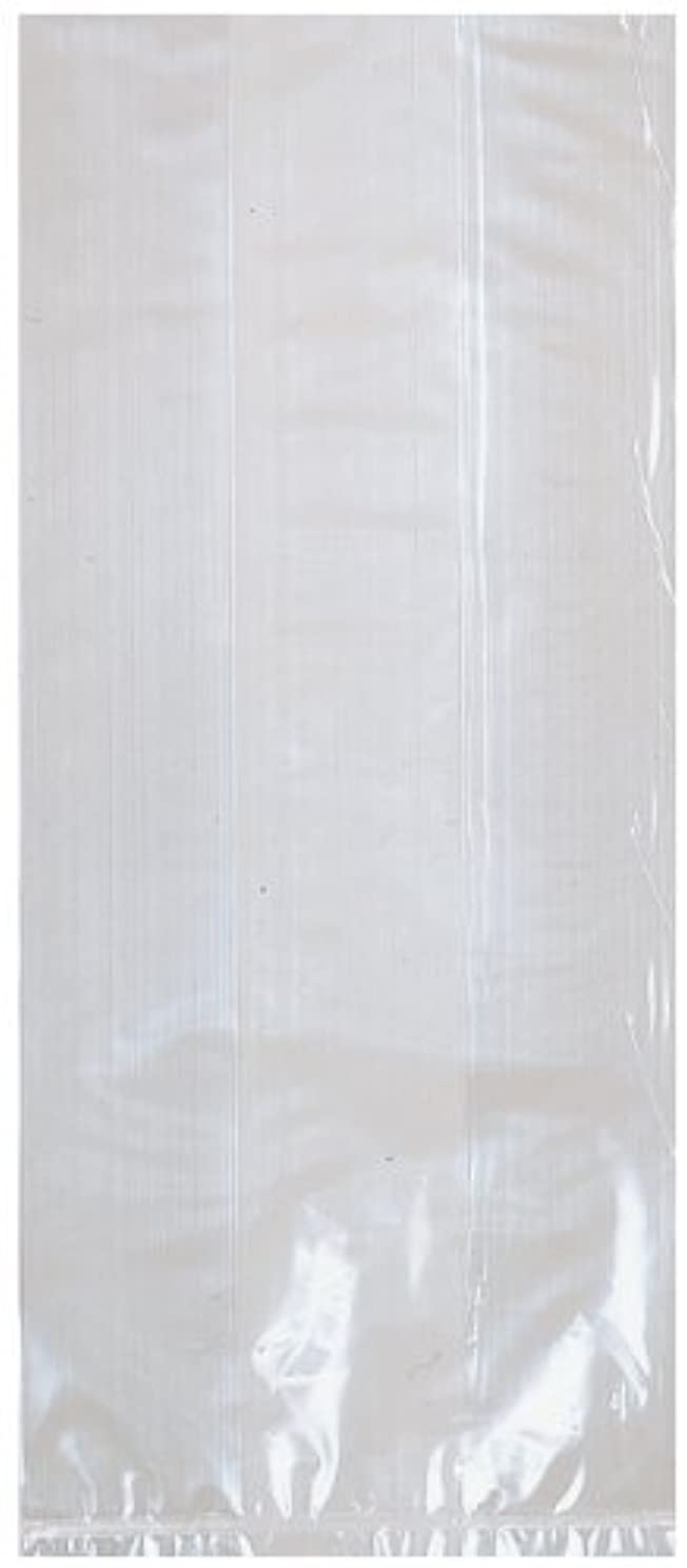 Amscan Party Ready Small Cellophane Favor Bag, Clear, 9 1/2